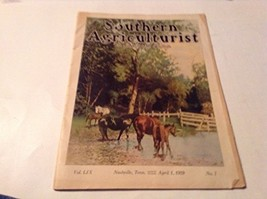 APRIL 1 1929 SOUTHERN AGRICULTURIST MAGAZINE [Single Issue Magazine] [Ja... - $19.12