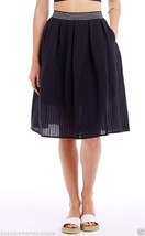 NWT ARMANI EXCHANGE AX Perforated Full Skirt Bo... - $78.00