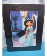"Aladdin Jasmine  Matted Wall Art Measures 20"" by 16"" - $11.23"