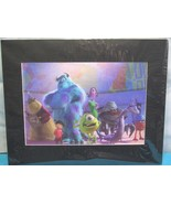"MONSTERS INC Matted Wall Art Measures 20"" by 16"" - $11.23"