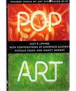 Pop Art (World of art) [Jan 01, 1966] Lippard, Lucy R - $14.90