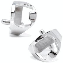 Stainless Silver Bottle Opener Cufflinks - $49.00