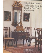 Highly Important Americana From The Stanley Paul Sax Collection [Hardcov... - $21.60
