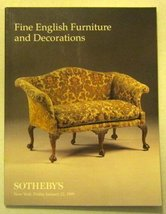 Sotheby's : Fine English Furniture and Decorations : January 22, 1999 : ... - $8.10