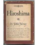 Hiroshima [Hardcover] [Jan 01, 1946] Hersey, John - $14.40