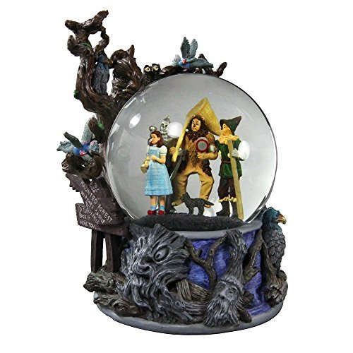 Wizard of Oz Haunted Forest Water Globe San Francisco Music Box Company