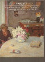 Impressionist and Modern Paintings, Drawings and Sculpture [Paperback] [... - $9.90