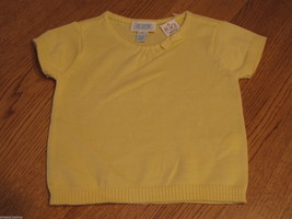 The Children's Place girls 18M 18 months T shirt Yellow Sweater NWT ^^  - $5.93