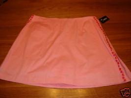 Womens misses tennis skort skirt Golftini 12 NWT 136.00 - $44.54