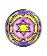 Solomons 2nd Seal of Jupiter for Honor Wealth Peace Gunmetal Adjustable ... - $14.95