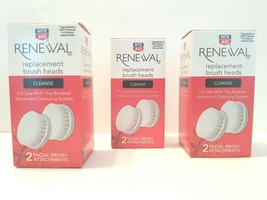 3 Rite Aid Renewal Advanced Cleansing System Facial Replacement Brush He... - $19.79