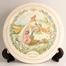 Wedgwood 1990 wall plaque Jack and Jill Nursery Rhymes collection CP169 - $63.70