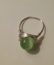 Artisan Crafted Handmade Wire Wrapped Silver & ... - $7.99