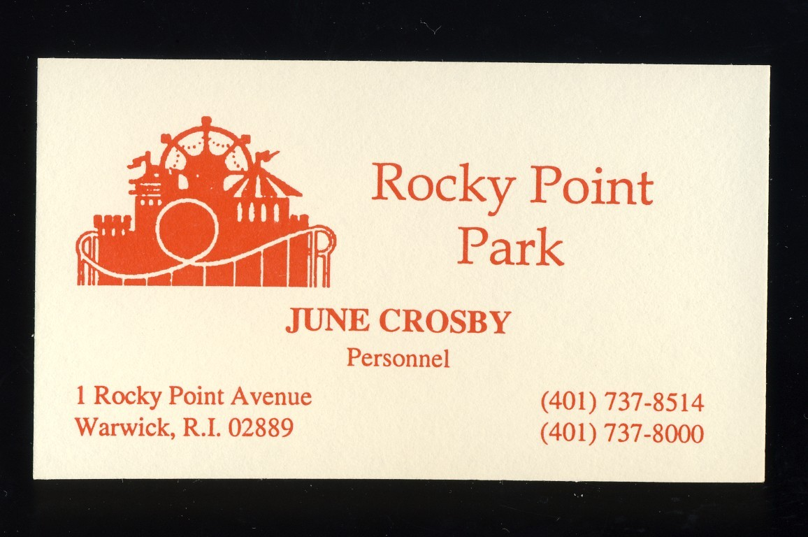 Rocky point business card
