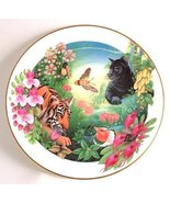 Royal Doulton Jungle book series Shere Khan and Bagheera by Mike Atkinson CP57 - $87.22