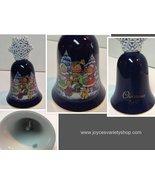 Avon Christmas Bell 1987 Porcelain Children Caroling - $15.99