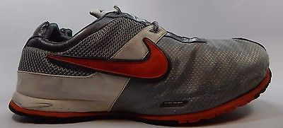 Nike Zoom Men's Running Shoes Size US 13 M (D) EU 47.5 Silver White 318205-061