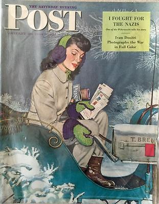 Primary image for The Saturday Evening Post January 29, 1944 - FULL MAGAZINE