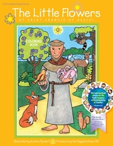 The Little Flowers of Saint Francis of Assisi - Coloring Book