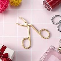 3 Pack Eyebrow Tweezers, Scissors Shaped Eyebrow Straight Tip Tweezers Clip, Fla image 6