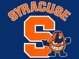 Syracuse Orange Men Cross Stitch Pattern***L@@K*** - $4.95