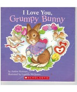 I Love You Grumpy Bunny by Justine Korman Illustrated by Lucinda McQueen - $5.75