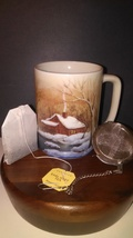 Vintage Otagiri Winter Home Mug - $12.95