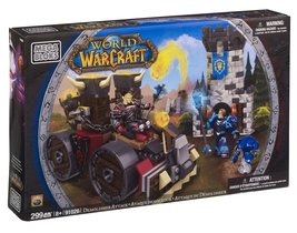 Mega Bloks World of Warcraft Demolisher Attack - $79.95