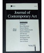 Journal of Contemporary Art First Issue Volume 1 Number 1 [Paperback] [J... - $24.90