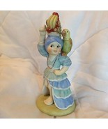 1979 Franklin Porcelain Yolanda from Brazil UN Children Hand Painted Fig... - $14.99