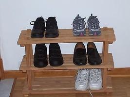 Shoe Organizers,Handmade,Cedar,wholes six pairs of shoes - $1.887,61 MXN