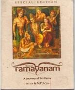 Shrimad Ramayanam: A Journey of Sri Rama (Set of 6 MP3 CDs) - $39.59