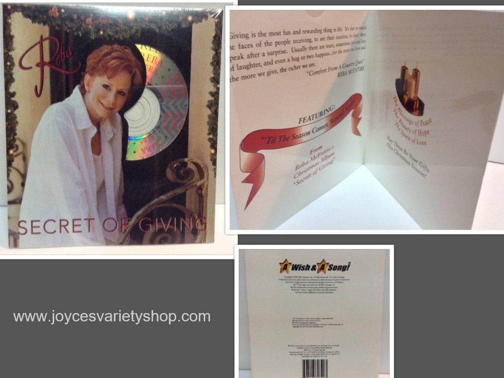 Reba secret of giving cd collage