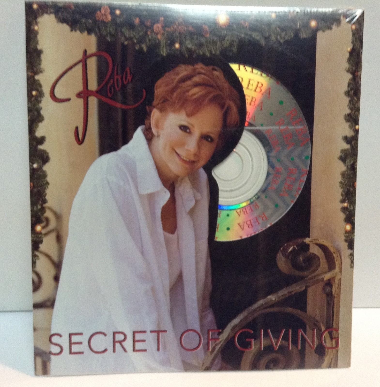 Reba McEntire Secret of Giving CD Gift Holiday Card New Sealed