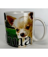 Chihuahua Dog Coffee Cup Mug Raised Embossed 3D Large 18 oz Puppy Rare - $29.69