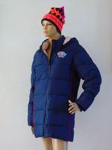 Reebok Hooded Navy Blue Puffer Winter Jacket Parka Coat Outerwear Sky Sz S  - $46.00