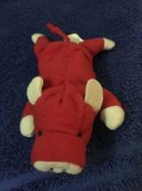 """Ty TEENIE 3"""" Beanie Babies 1993 Grunt Red Razorback  NO Tag - $0.94"""