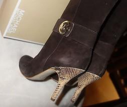 Michael Kors Caroline Boot Brown Suede Size 9 NEW - $184.29
