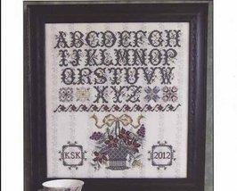 Surrey House Sampler cross stitch chart Rosewood Manor - $13.00