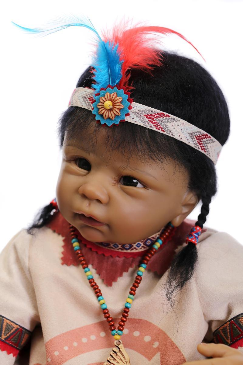 21 Quot Popular Native American Indian Lifelike Reborn Baby