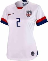 NIKE 2019 Mallory Pugh 2 USA Home Womens XS World Cup Jersey White CJ702... - $84.14