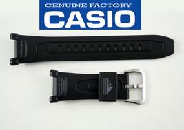 Genuine CASIO PATHFINDER 21mm WATCH BAND Strap BLACK  PAG-240  PAG-40 Bl... - $23.75