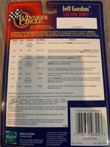 Jeff Gordon #24 Winners Circle 1/64 1999 Pepsi Chevrolet Monte Carlo, NEW