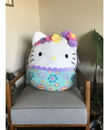 """New With Tags Sanrio Hello Kitty Floral Squishmallow 20"""" - $46.53"""