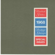 1968 USPS Commemorative Year Set First Folder Issue With Stamps - Stuart... - $59.95