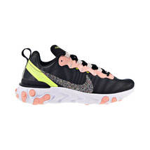 Nike React Element 55 PRM Women's Shoes Black-Coral Stardust CD6964-002 - $130.00