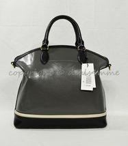 NWD Brahmin Large Duxbury Satchel/Shoulder Bag in Charcoal Westport image 4