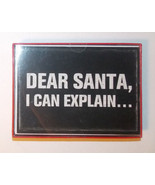 Paper Images 18 Christmas Cards Dear Santa, I Can Explain NIB - $9.49