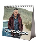 Bruce Springsteen Desktop Calendar 2020 NEW + FREE GIFT 3 Stickers - $15.99