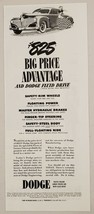 1941 Print Ad Dodge Cars with Fluid Drive Lowest Priced $825 Price Advan... - $11.56